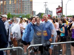 Lindsey, Whitney, and Joe - 2008 Country Music Half Marathon in Nashville, TN