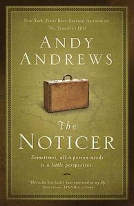 Andy Andrew's new book The Noticer - In Store April 28th