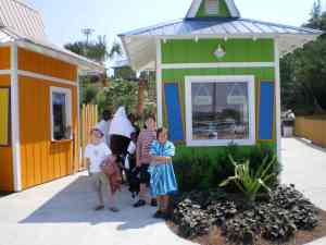 Joey, Roman, and Sarah Trammell - Big Kahuna Waterpark 2008