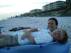 Me and Joey - Rosemary Beach 2008